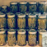 How to Can Dilly Beans 101 from @greenmom #canning #gardening #harvest