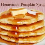 Homemade Pumpkin Syrup via @greenmom Yum over pancakes or vanilla ice cream!