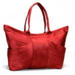 @Maggie_Bags Red Butterfly Bag made out of unused seat belts! #Stylish #Green and Functional via @greenmom