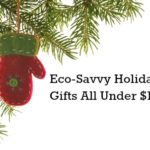 Eco-Savvy Holiday Gifts for Under $150 from @greenmom #Christmas