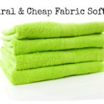 Natural & Cheap Fabric Softener