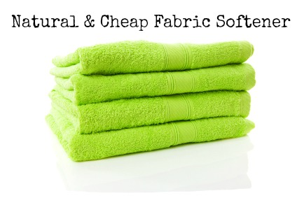 Natural & Cheap Fabric Softener #save #natural #DIY