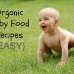organic baby food recipes #DIY #Organic #Healthy