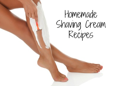Woman shaving her legs, white background