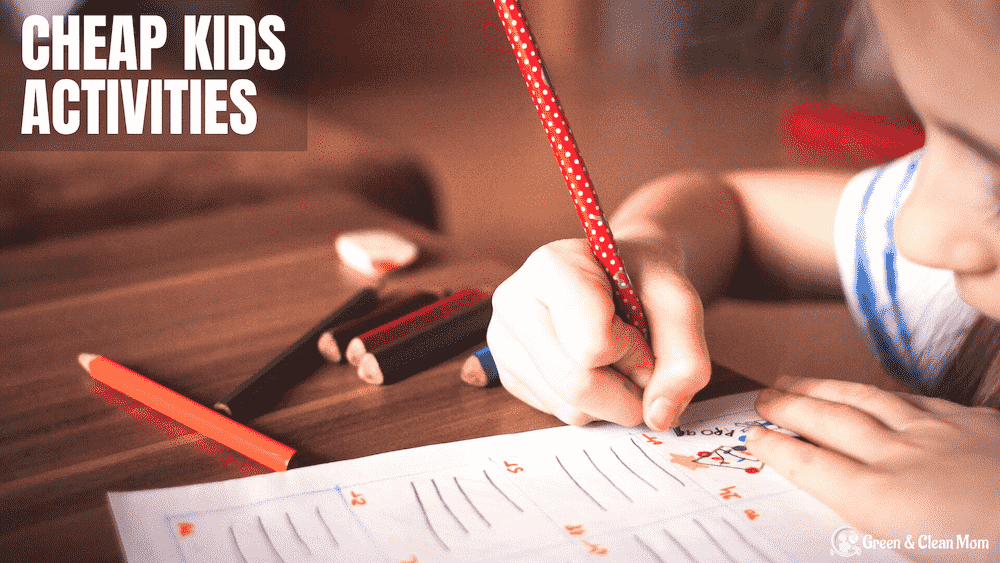 Cheap Kids Activities - Save Time & Money