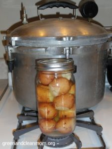 Canning and Freezing Potatoes