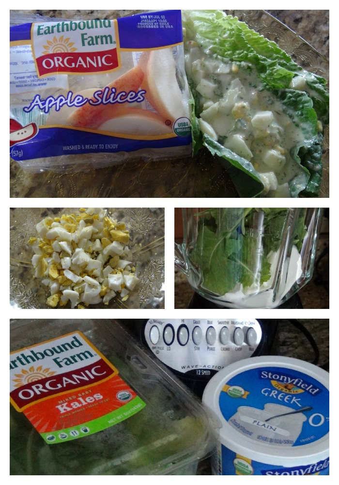 egg salad# recipe in lettuce with greek yogurt and kale #healthy