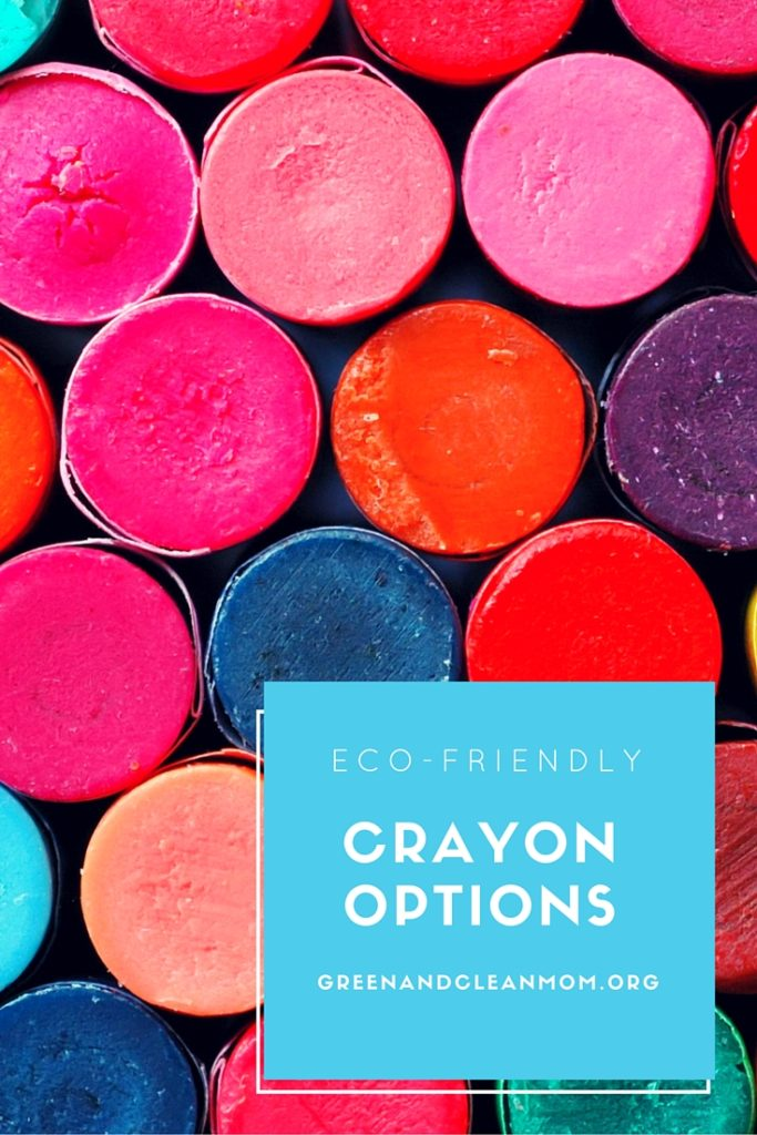 Green your coloring with these eco-friendly crayon options