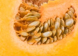 Adding pumpkin seeds to your fall salad or squash! #health #autumn