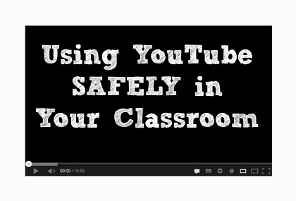 Using YouTube SAFELY in Your Classroom #teaching #YouTube