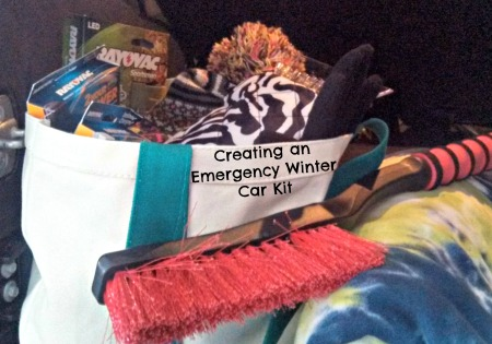 Creating an Emergency Winter Car Kit