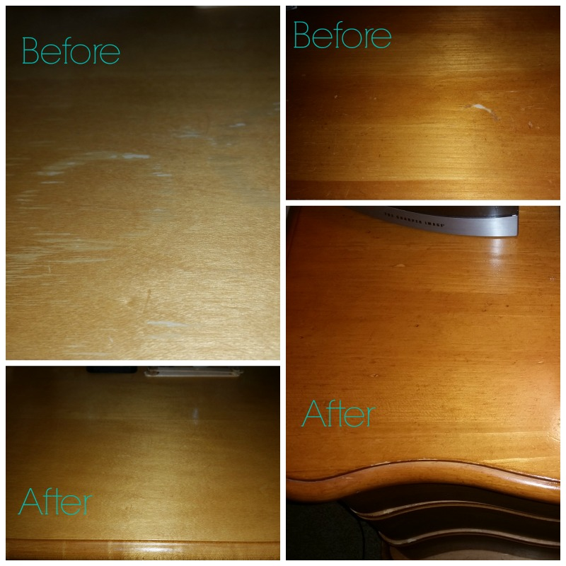 DIY Wood Scratch Remover