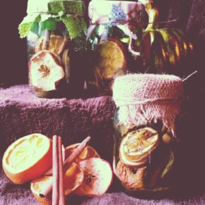 DIY Christmas Potpourri Recipe for Easy Holiday Gifts #DIY