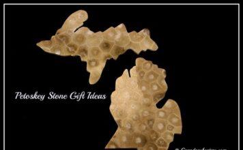 Petoskey Stone Gift Ideas #Michigan #Petoskey #Gifts