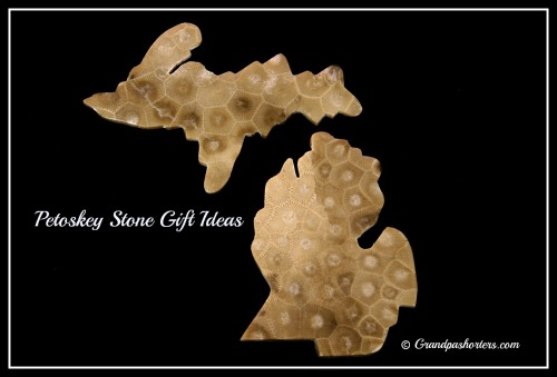 Petoskey Stone Gift Ideas #Michigan #Petoskey #Gifts