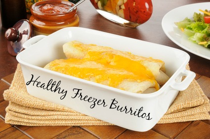 Healthy Freezer Burritos