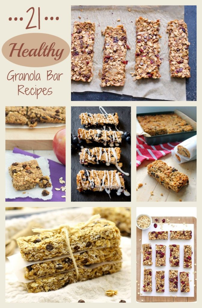 Healthy Granola Bar Recipes #Health #Recipes