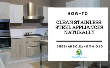 Naturally Clean Stainless Steel Appliances
