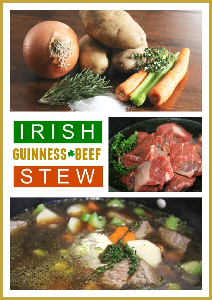 Recipe for Irish Beef and Guinness Stew