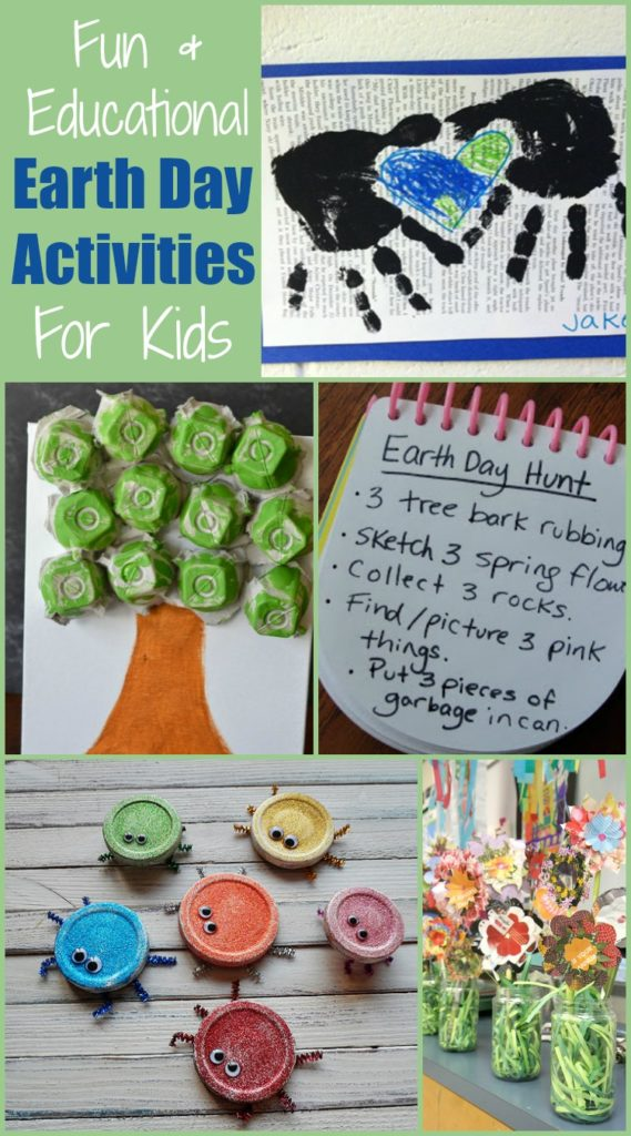 Fun and Educational Earth Day Activities for Kids #EarthDay