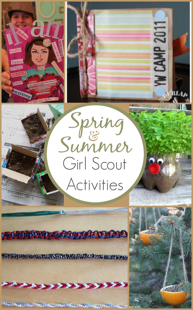 Girl Scout Activity Ideas for Spring and Summer