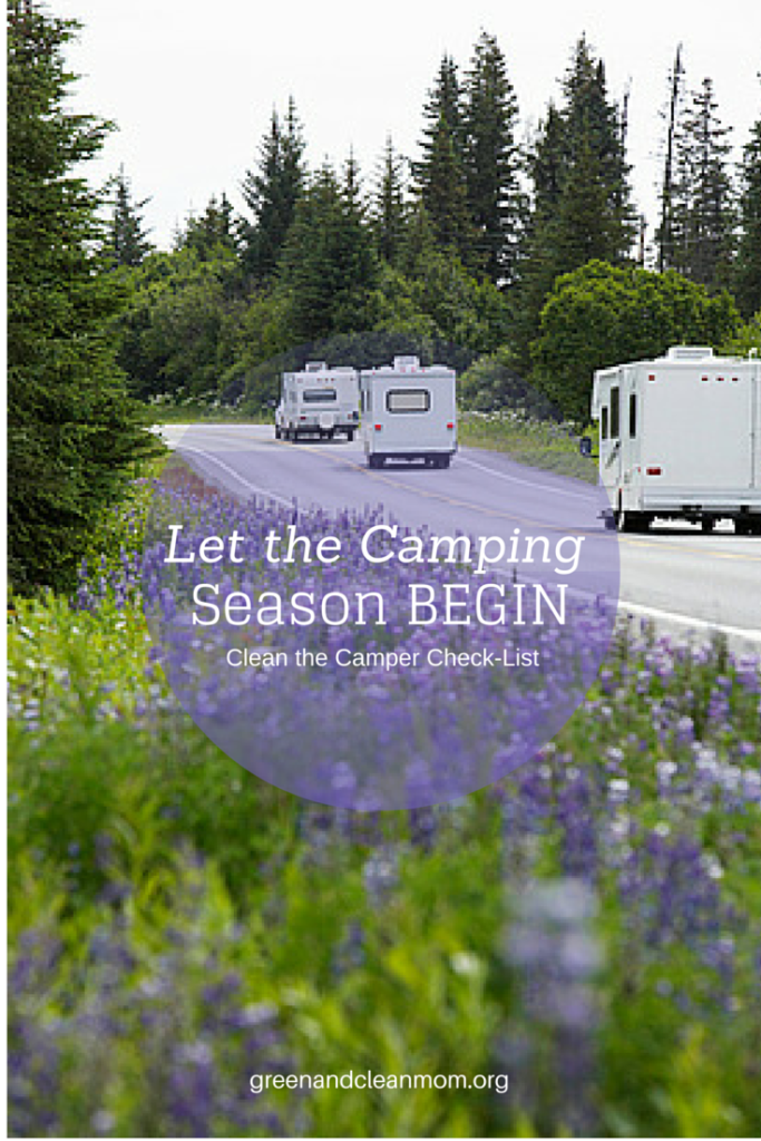 Start the camping season off right with this FREE Clean the Camper Check-List! Great tips and links for recipes and what to pack when camping with kids too!