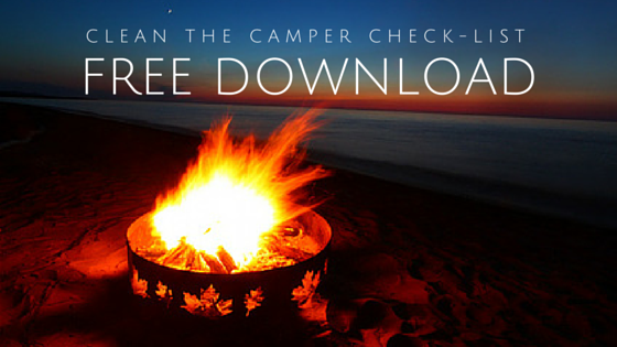 Free Download Clean Your Camper Check-List