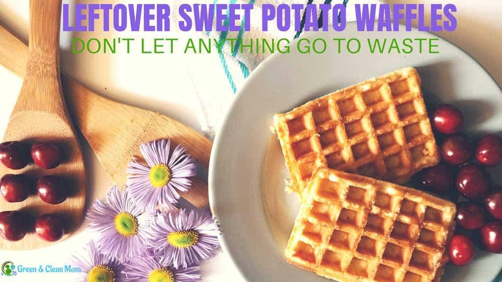 leftover sweet potato waffles