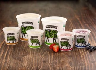 Stonyfield Farms Organic 100% Grassfed Yogurt