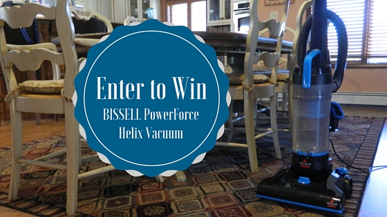 BISSELL PowerForce Helix Vacuum Giveaway