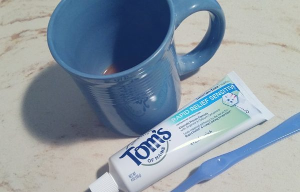 Tom's of Maine Rapid Relief Toothpaste
