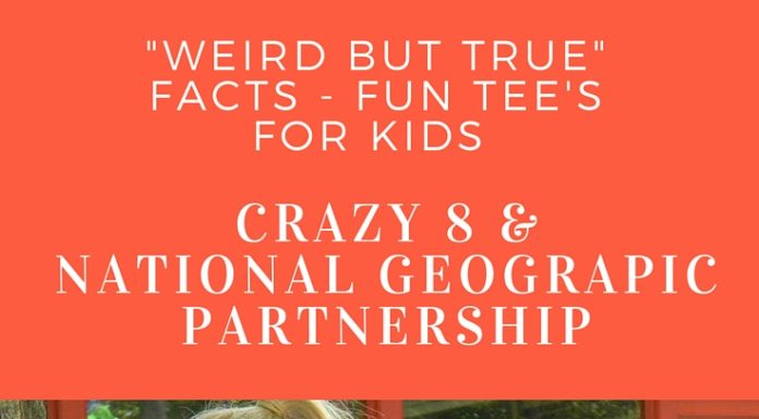 National Geographic Kids and Crazy 8 Partnership Fun Tees for Kids