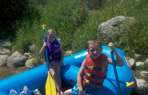 Summertime Memories of Rafting