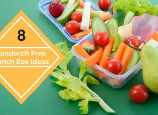 8 Healthy Sandwich FREE Lunch Ideas Kids LOVE
