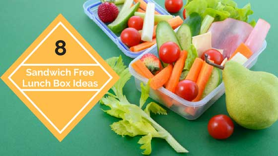 Healthy sandwich-free lunches