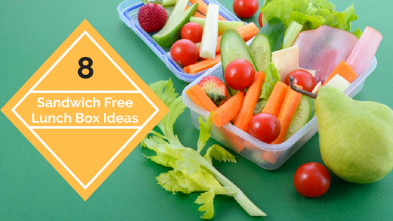 8 Healthy Sandwich FREE Lunch Ideas Kids LOVE