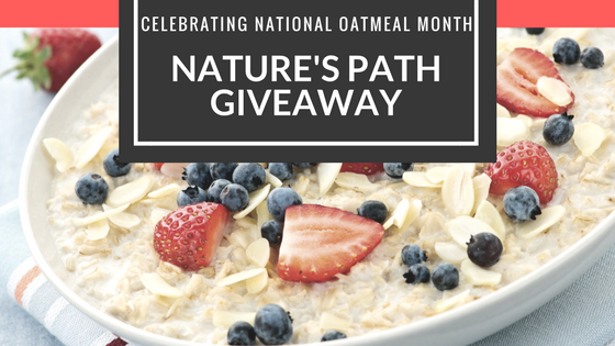 Celebrating National Oatmeal Month