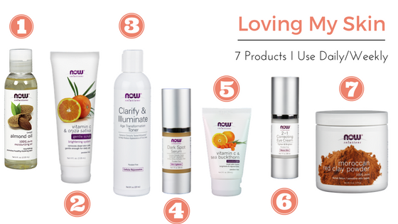 7 Favorite Skin Care Products