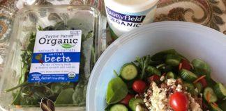 Homemade Greek Yogurt Blue Cheese Salad Dressing