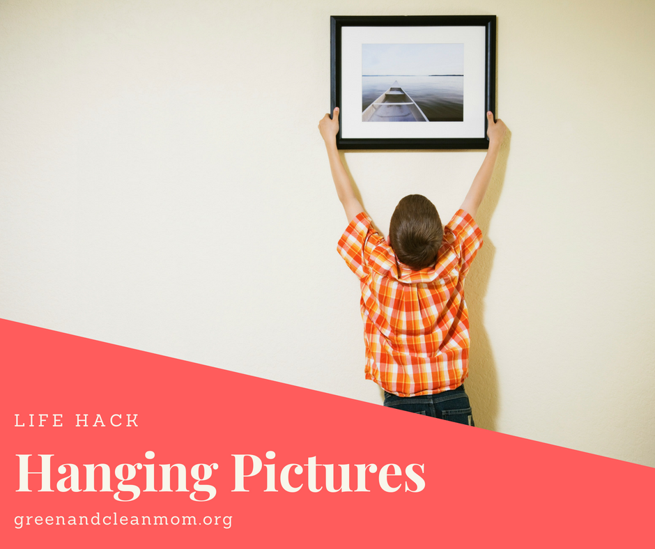 Hanging Pictures with Toothpaste