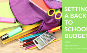 Setting a Back to School Budget