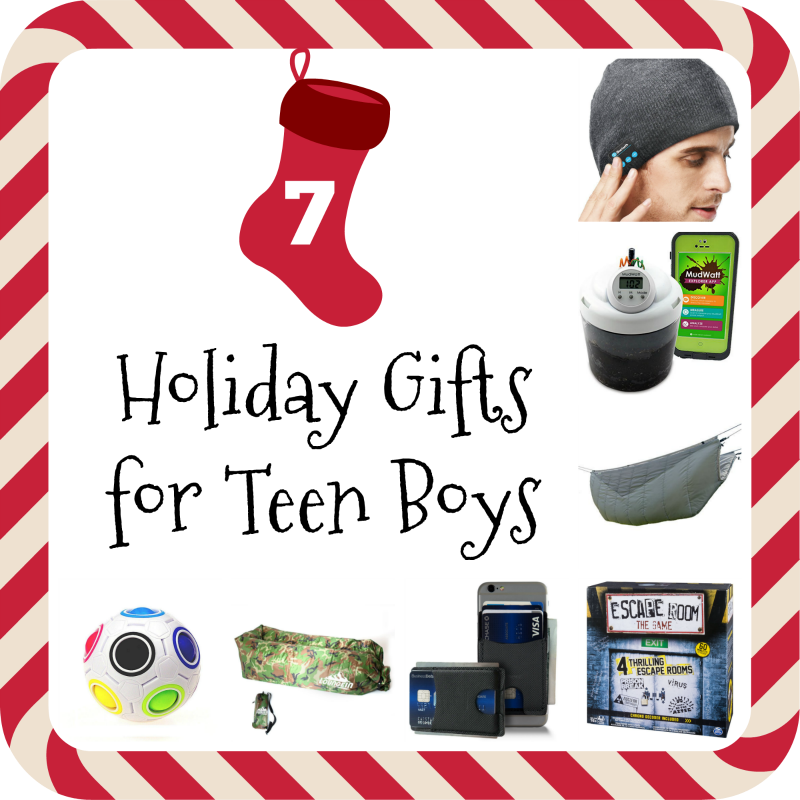 Holiday Gifts for Teen Boys