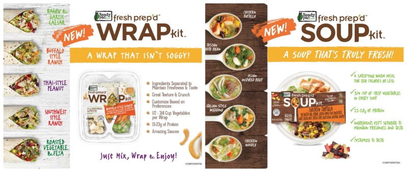 Fresh Prep'd™ Wraps and Soup Kits –Healthy, Quick, Easy, Tasty & Affordable