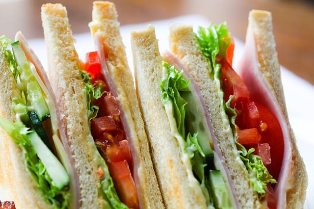 sandwich wrapped