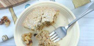 How to Make a Homemade Walnut Cake Recipe