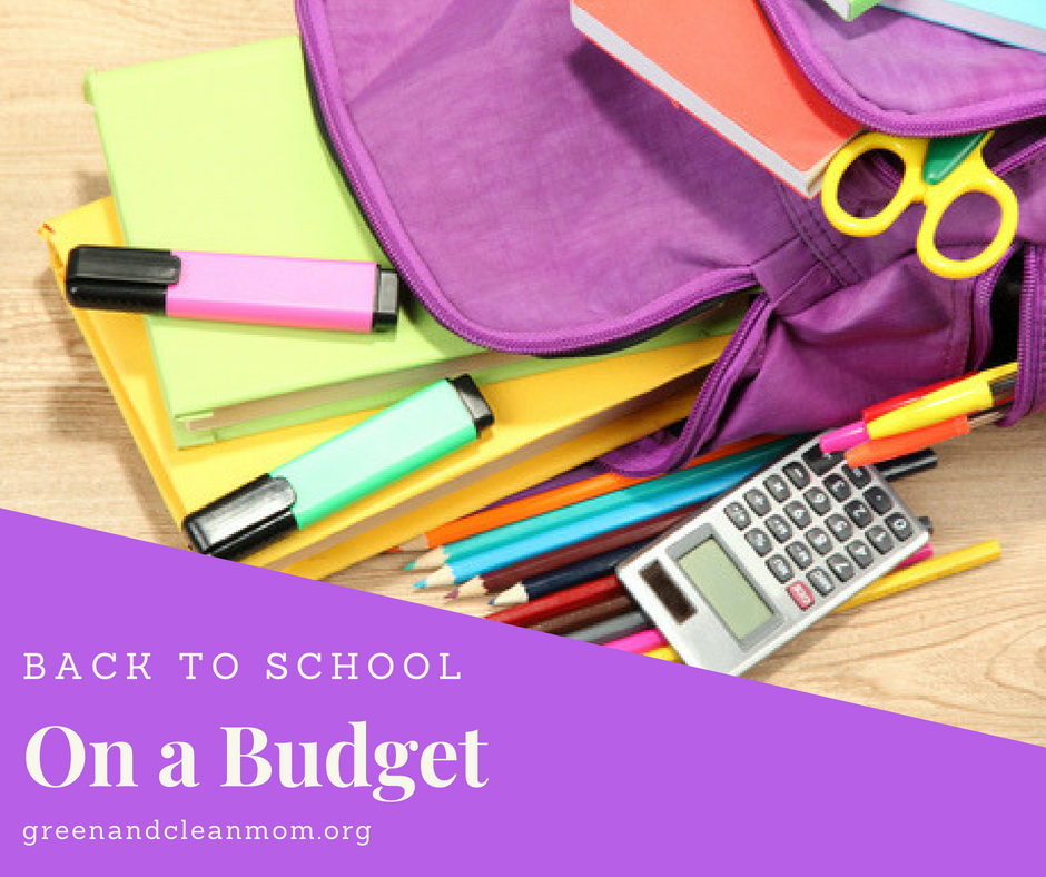 The Very Best Back to School on a Budget Tips
