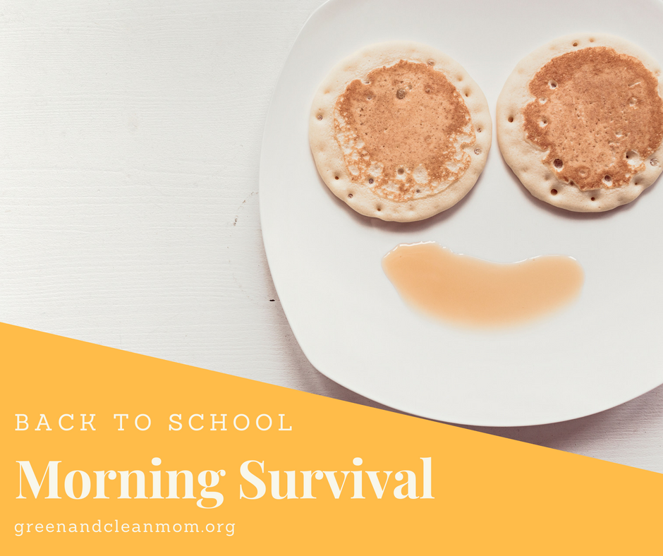 Back to School Morning Routines and Breakfast Ideas