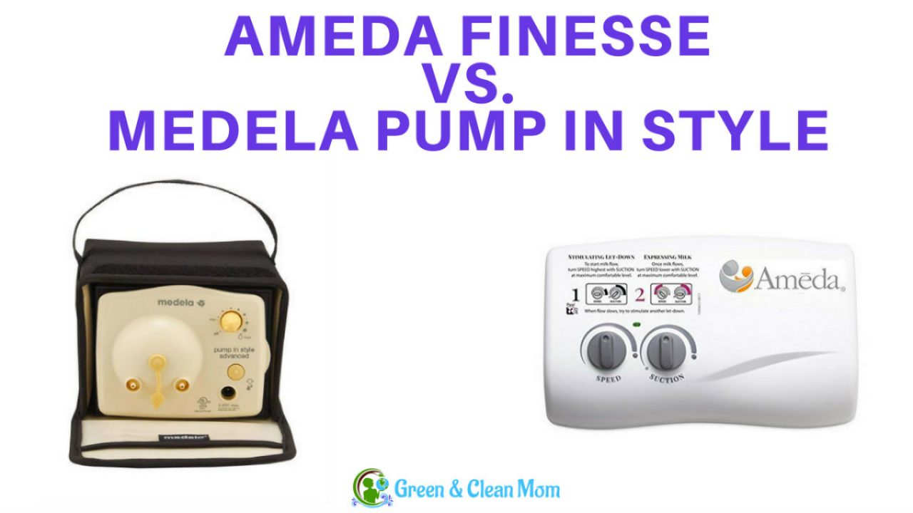 Ameda Finesse Vs Medela Pump In Style Which Is Right For You