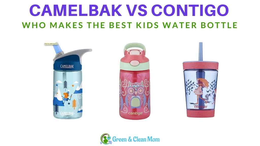 3845d60300 Contigo vs Camelbak Bottles - Choose The Best For Your Kids ⋆ Green ...