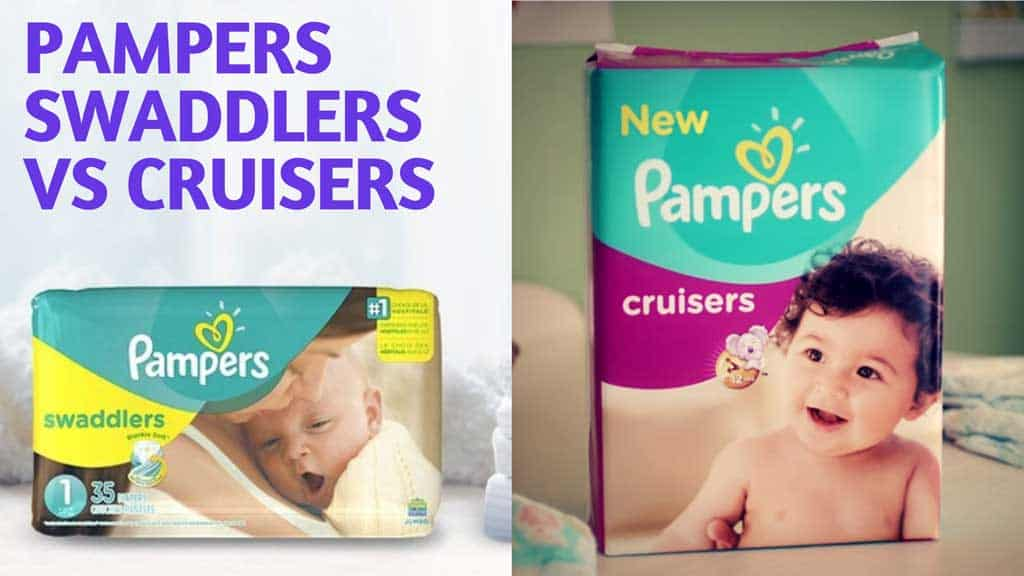 pampers swaddlers cruisers comparison